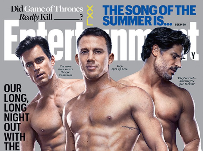 Channing Tatum, Matt Bomer et Joe Manganiello... ils donnent chaud en couverture d'Entertainment Weekly !