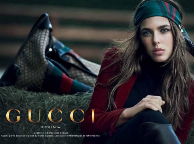 Charlotte Casiraghi : magnétique et chicissime pour la maison Gucci !