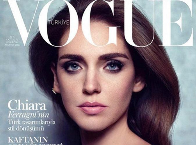 Chiara Ferragni : Angélique en couverture de Vogue Turquie !
