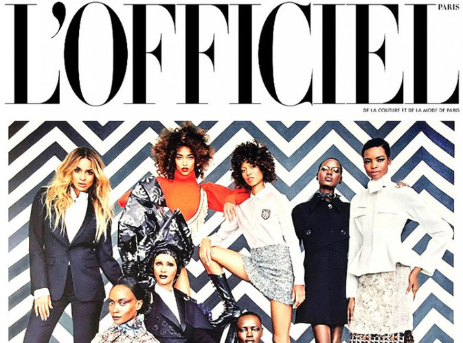 Ciara, Iman Bowie... Un #GangOfAfrica de luxe en couverture de L'Officiel Paris
