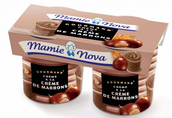 Crème de marrons, Gourmand, Mamie Nova, 1,90€