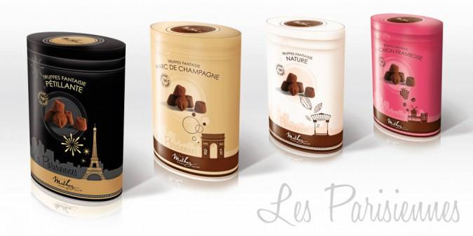 Truffes fantaisie, Les Parisiennes, Mathez, 7,95€
