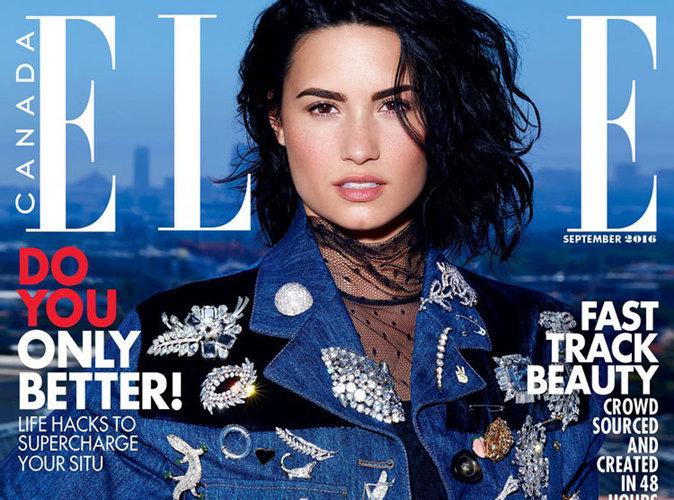 Demi Lovato : revient en force en couverture de ELLE Canada