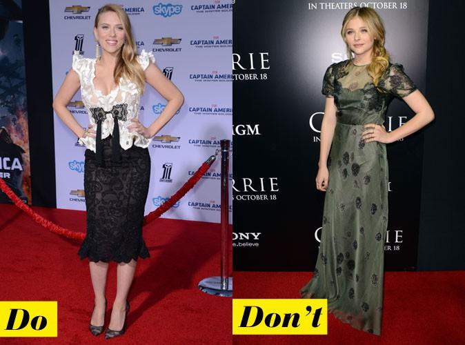 Scarlett Johansson est resplendissante, Chloe Grace Moretz peut en prendre de la graine !