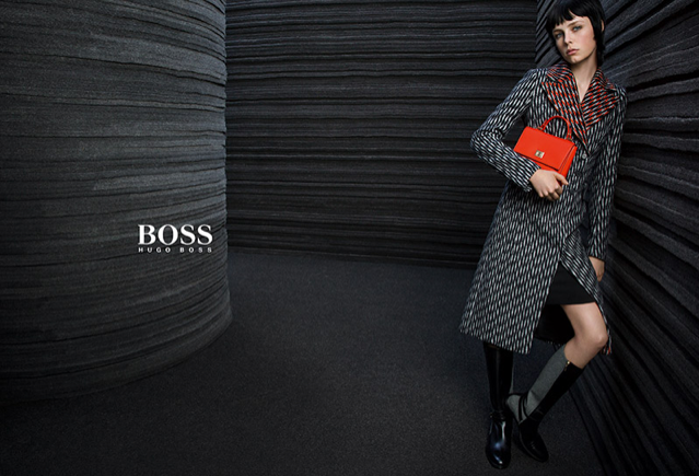 edie campbell un mannequin en vogue qui devient visage de hugo boss. Black Bedroom Furniture Sets. Home Design Ideas