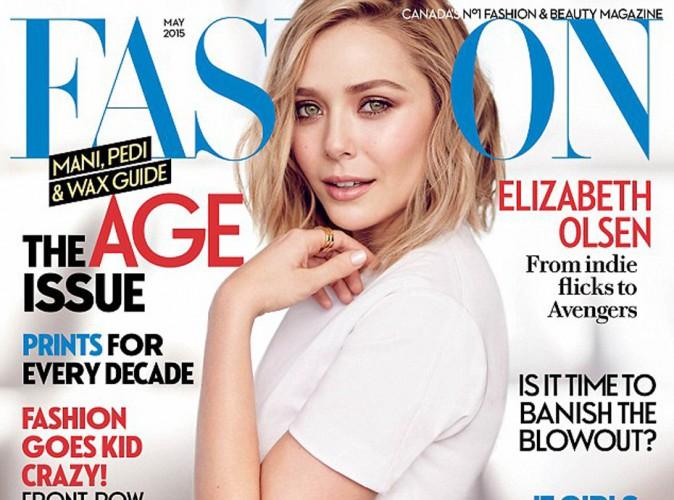 Elizabeth Olsen : naturellement belle en une de Fashion Magazine