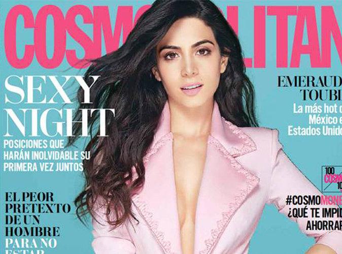 "Emeraude Toubia, la latina de la série ""Shadowhunters"" en couverture du magazine Cosmopolitan Mexique"