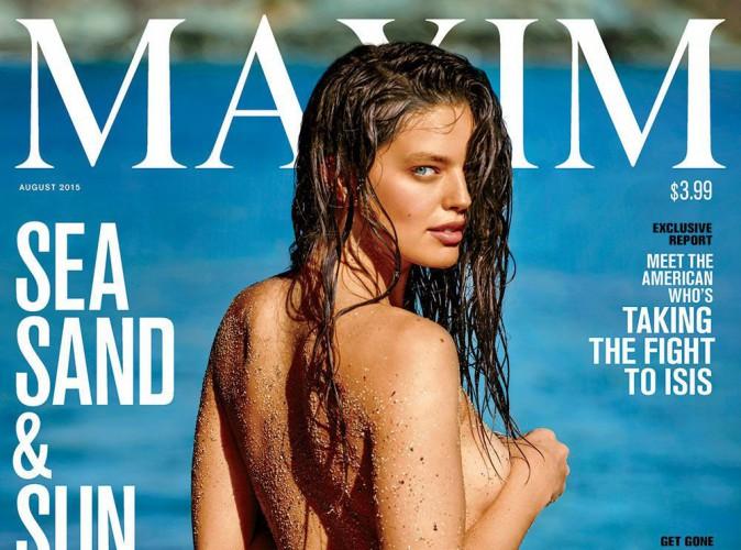 Emily DiDonato : une cover girl naturelle et sensuelle pour Maxim Magazine !