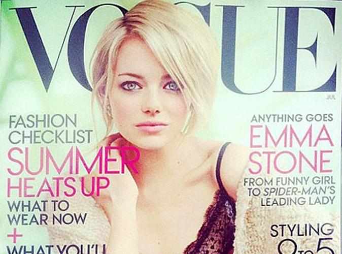 Emma Stone : elle fait la couverture du Vogue US !