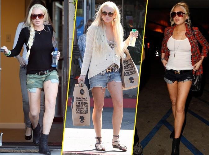 Lindsay Lohan retrouve sa panoplie préférée !