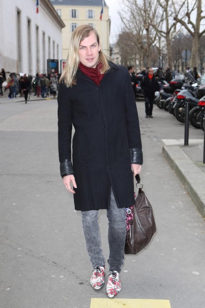 Christophe Guillarmé chez Veronique Leroy - Fashion week automne-hiver 2013/14
