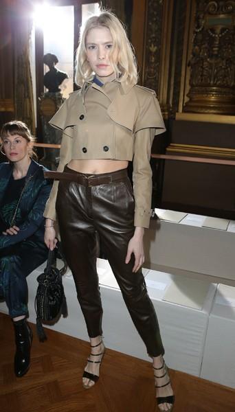 Elena Perminova chez Stella McCartney - Fashion week automne-hiver 2013/14