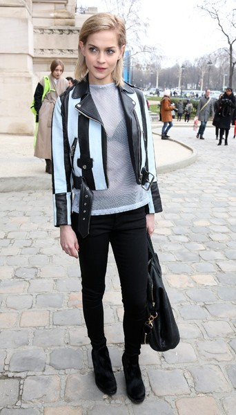 Leigh Lezark chez Acne - Fashion week automne-hiver 2013/14