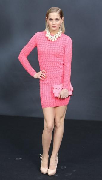 Leigh Lezark chez Chanel - Fashion week automne-hiver 2013/14