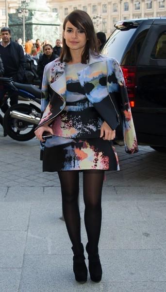 Miroslova Duma chez Giambattista Valli - Fashion week automne-hiver 2013/14