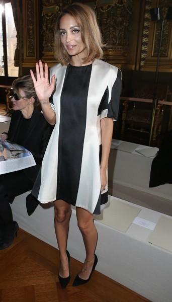 Nicole Richie chez Stella McCartney - Fashion week automne-hiver 2013/14