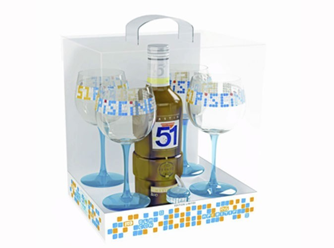 Food : le 51 Piscine de Pernod Ricard !