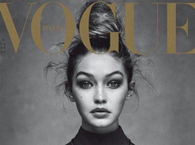 Gigi Hadid : captivante en Valentino pour Vogue Italie