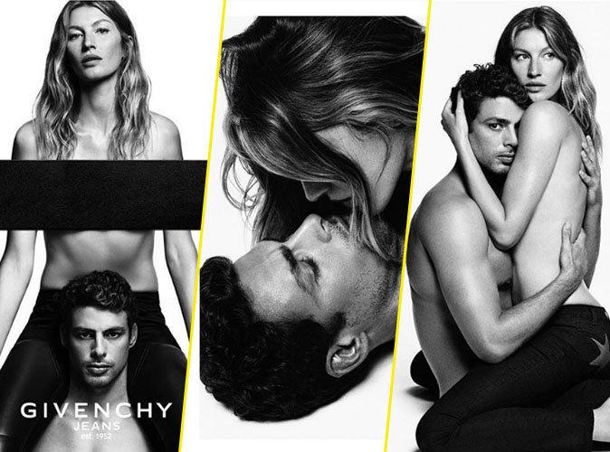 Gisele Bündchen : bombesque et topless, la nouvelle égérie Givenchy c'est elle