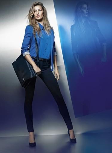 Gisèle Bundchen pose pour sa nouvelle collection de vêtements !