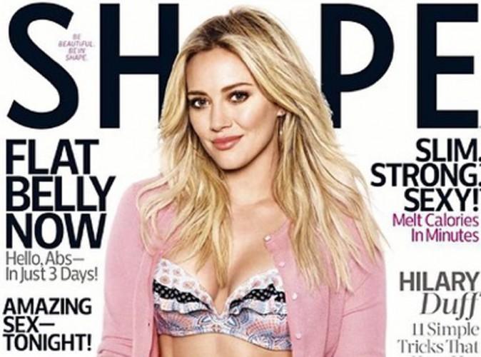 Hilary Duff : corps de rêve oui, mais zéro régime ! Sublime pour Shape Magazine !