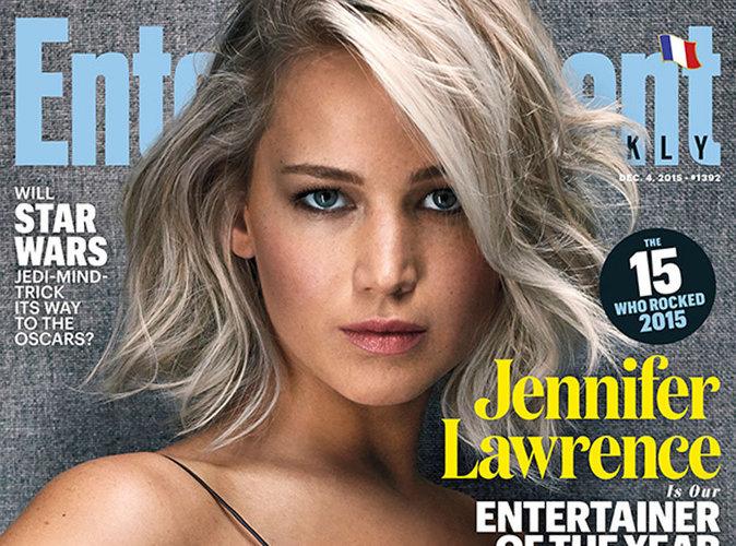 Jennifer Lawrence : ultra sexy en une de Entertainement Weekly !
