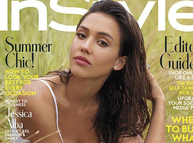 Jessica Alba : Fraîche et glamour en couverture du magazine Instyle !