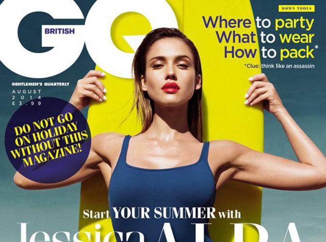 Jessica Alba : torride et sportive en une de GQ !