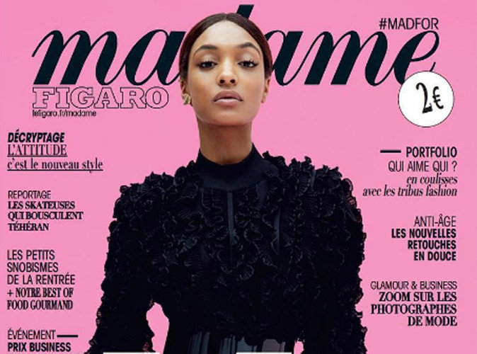 Jourdan Dunn : en Balmain, elle donne le ton chez Madame Figaro