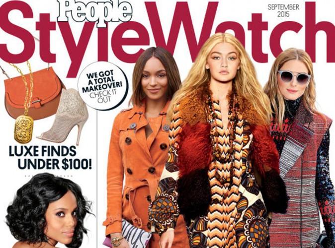 Jourdan, Gigi, et Olivia : trois ladies en couv' d'un tout nouveau magazine, People StyleWatch !