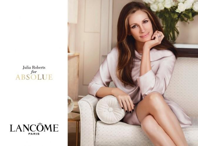 La nouvelle campagne publicitaire Lancôme avec Julia Roberts !