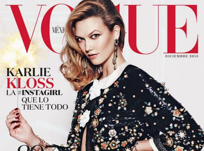 Karlie Kloss en une de Vogue Mexique pour le numéro spécial Noël