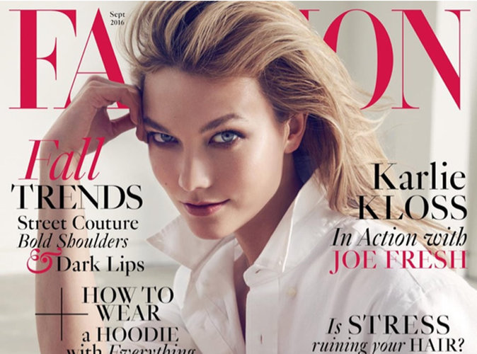 Karlie Kloss : la mannequin geek en couverture de Fashion Magazine !