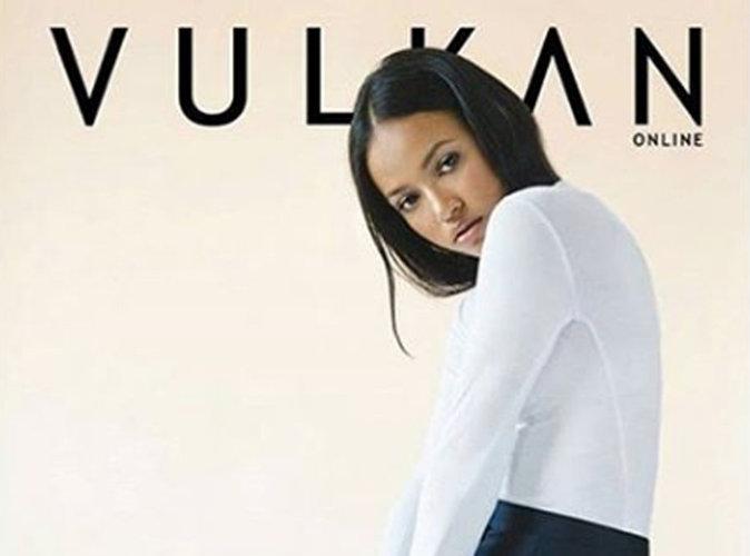 Karrueche Tran : méconnaissable en couverture de Vulkan Magazine