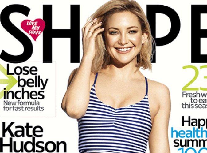 Kate Hudson : corps de rêve en couverture du magazine Shape