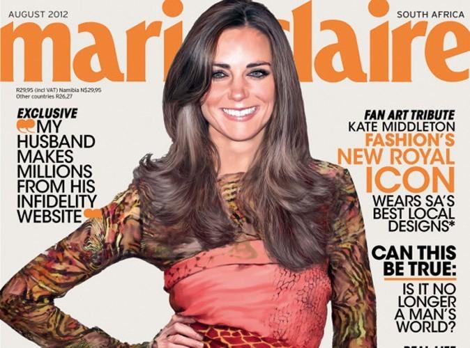 Kate Middleton : photoshopée en couverture du Marie-Claire Sud-Africain !