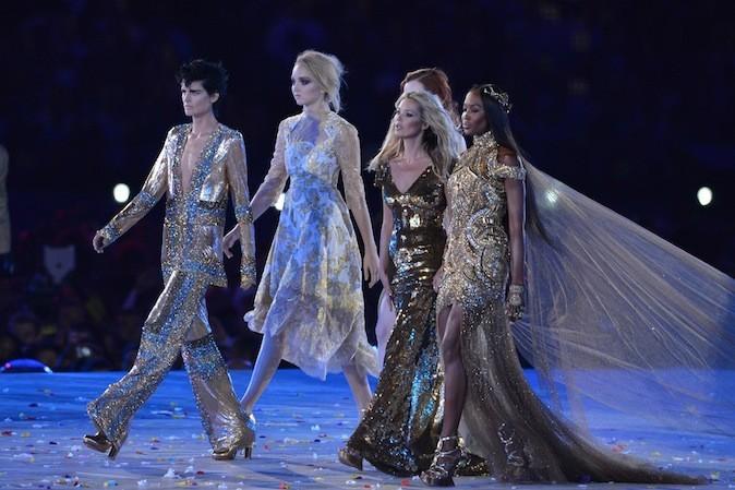 Alexander McQueen, Victoria Beckham, Stella McCartney !