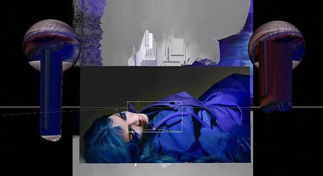 Mariacarla Boscono, la beauté italienne, représente la paresse