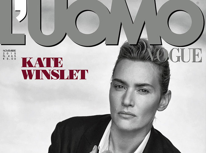 Kate Winslet : boyish et envoûtante pour L'Uomo Vogue !