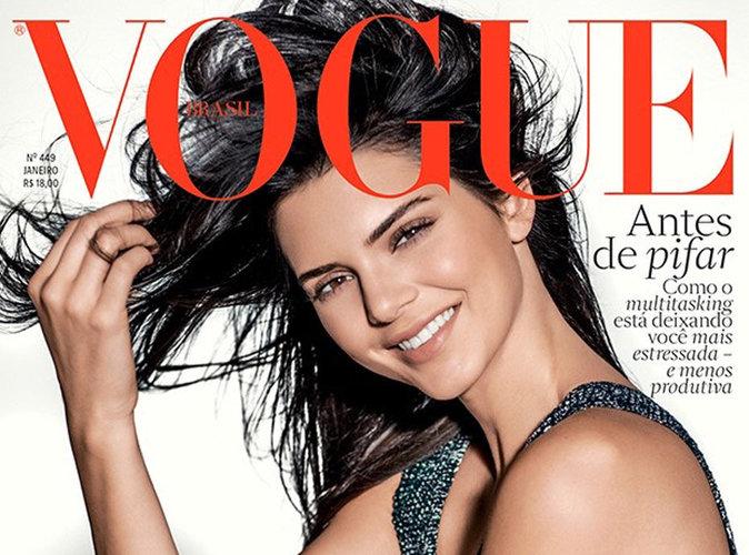 Kendall Jenner : tout sourire en couverture du Vogue Brésil !