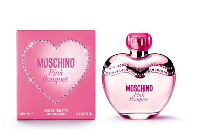 """Le nouveau parfum """"Pink Bouquet"""" de Moschino !"""
