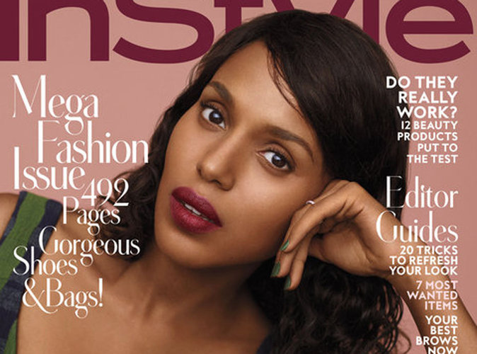 "Kerry Washington : ""J'ai le droit d'être africaine"" !"