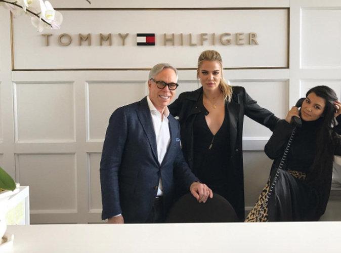 Khloé et Kourtney Kardashian : un projet secret avec Tommy Hilfiger