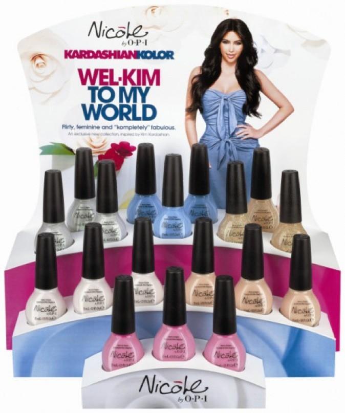 La nouvelle collection de vernis de Kim Kardashian !