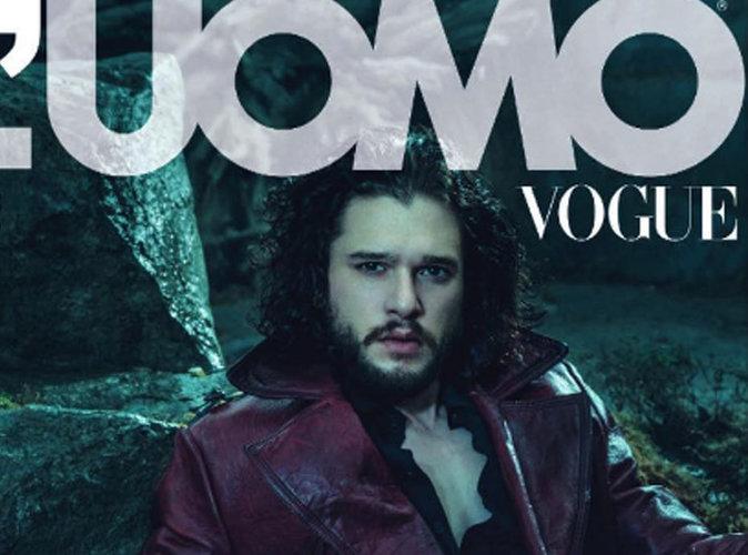"""Kit Harington : Mystérieux en couverture de """"L'Uomo Vogue"""""""