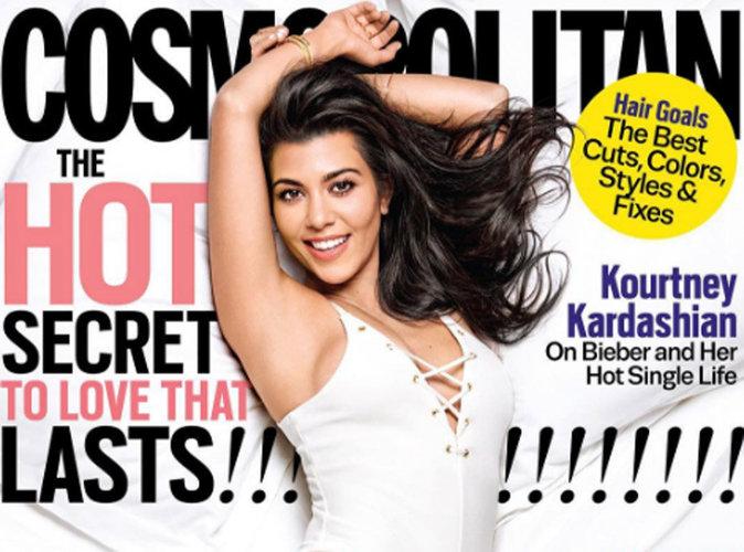 Kourtney Kardashian : silhouette de rêve en couverture de Cosmopolitan US !