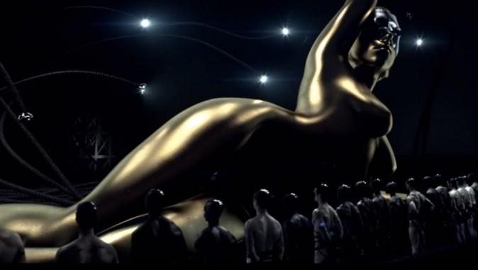 """Lady Gage en statut géante pour """"Fame"""""""