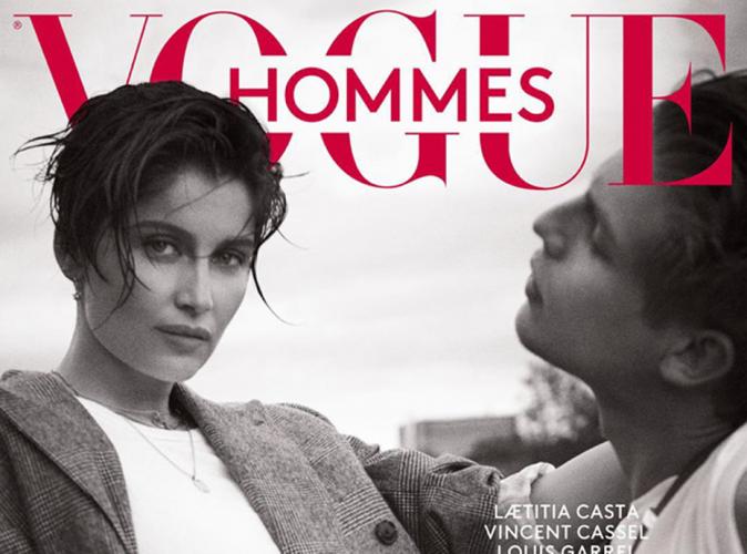 Laetitia Casta : boyish et envoûtante pour Vogue Hommes !