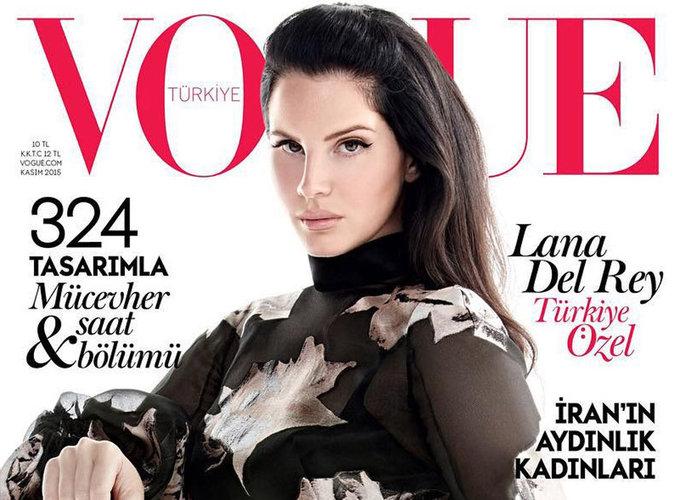 Lana Del Rey : envoûtante en une de Vogue Turquie !