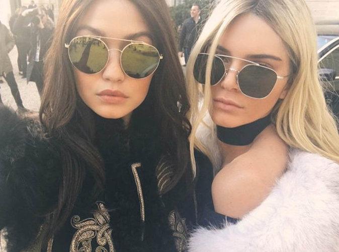 Le look mannequin off duty de Gigi Hadid et Kendall Jenner
